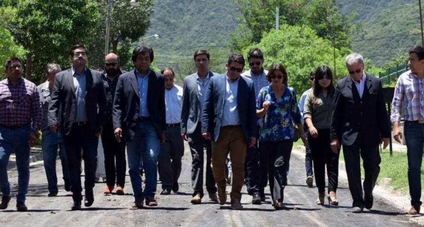 Ferreyra agradecido por la Visita de Corpacci al Municipio
