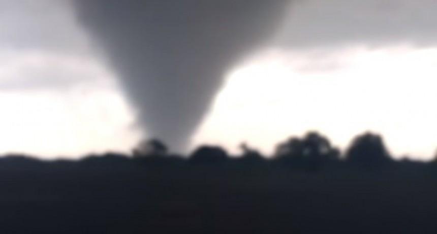 Un tornado azotó el norte santafesino