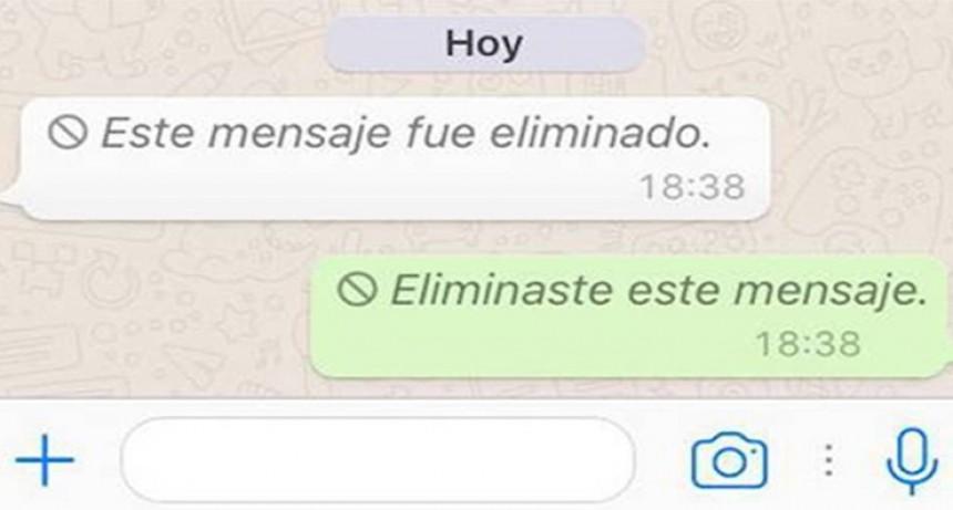 El truco de WhatsApp para saber qué decía un mensaje eliminado