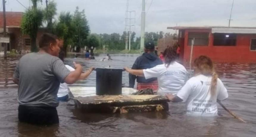 Tremendo: un bebé se cayó de la cama y se ahogó en su casa inundada