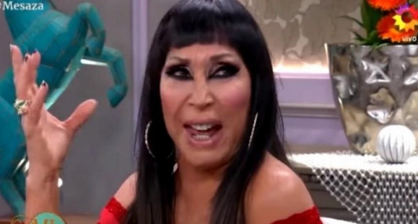 Moria Casán, víctima de memes en las redes