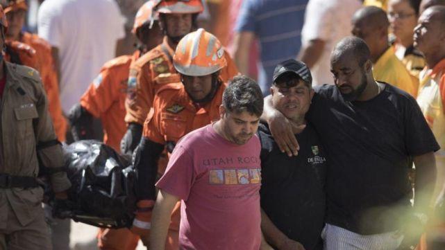 Brasil: voló una piedra de un cerro y mató a 14 personas