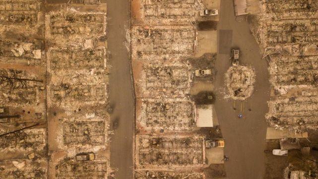 Incendios en California: 66 muertos y más de 600 desaparecidos