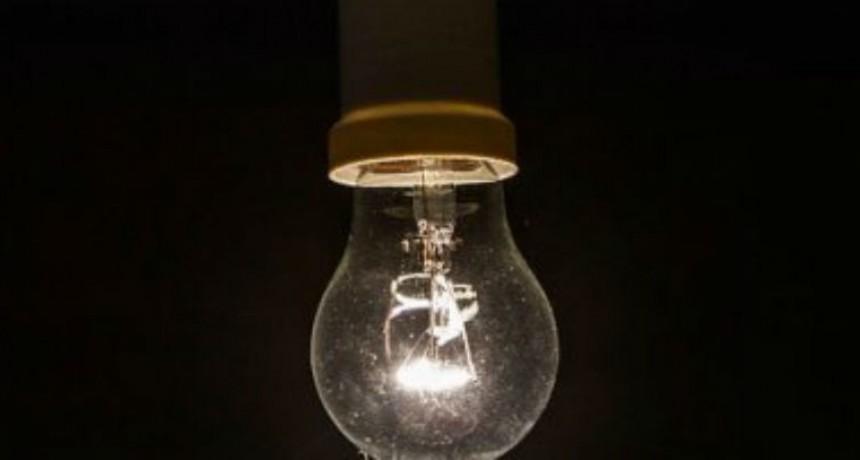Sin luz: anuncian tres cortes de energía entre los días lunes y martes