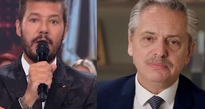 Tinelli habló con Alberto Fernández para sumarse al