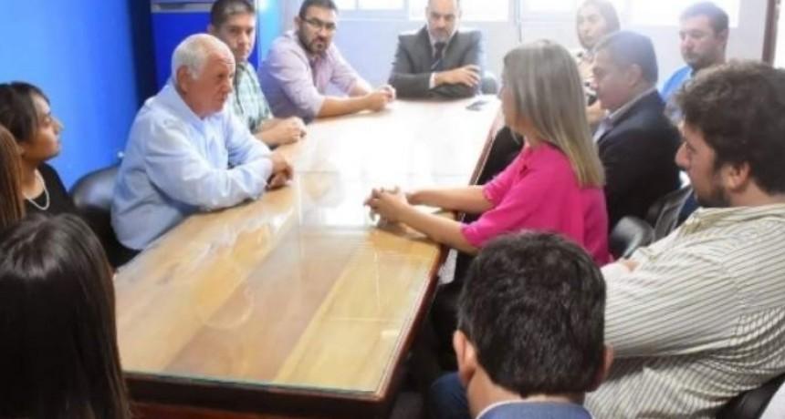 El intendente  Jalile recibió ayer a su par electa,  Susana Zenteno para acordar el proceso de transición