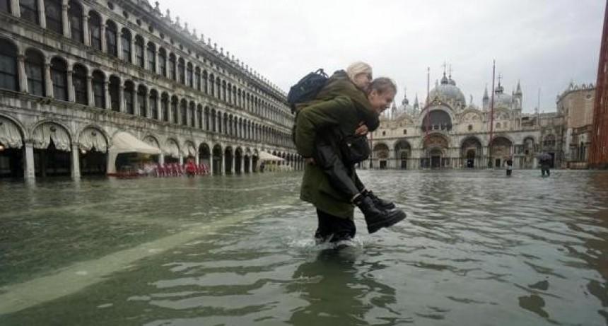 Venecia, devastada por la segunda peor inundación en un siglo