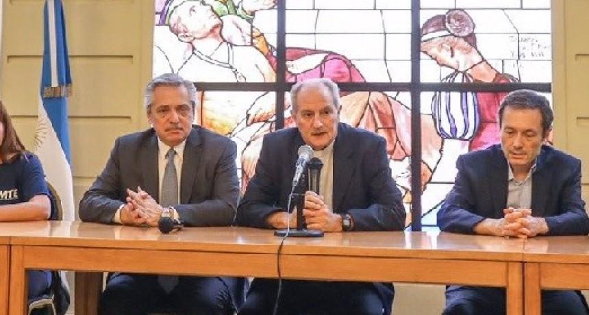 Alberto Fernández explicó a movimientos sociales y a la Iglesia su programa contra el hambre