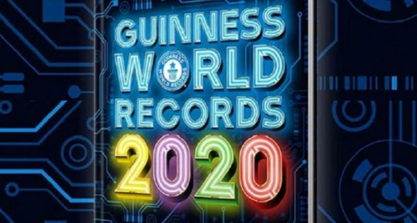 ¿Cuál fue el logro argentino destacado en el libro Guinness de los récords 2020?