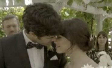 Llegó el gran día: Esperanza y Tomás se casan