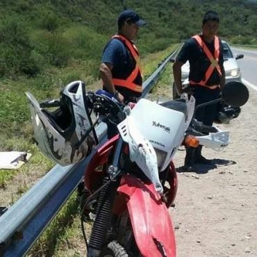Tucumanos sufrieron un grave accidente en la cuestecilla El Portezuelo