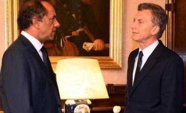Scioli se reunió con El Presidente Macri: