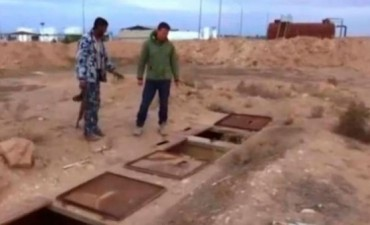 Tenebrosos calabozos que ISIS usa para las mujeres