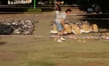 Secuestraron 3.000 kilos de marihuana en General Rodríguez