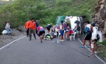 Imágenes del Accidente en la Cuesta del Portezuelo