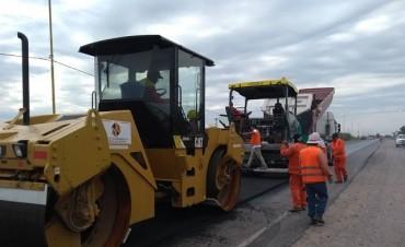 Se inició la repavimentación  de la Ruta Nacional 60 en Catamarca