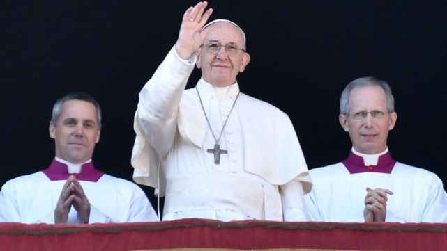 El Papa pidió paz para Jerusalén y toda la Tierra Santa