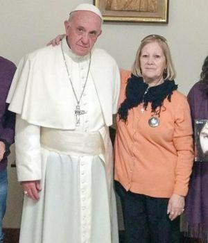 El Papa recibió a la familia de Santiago Maldonado