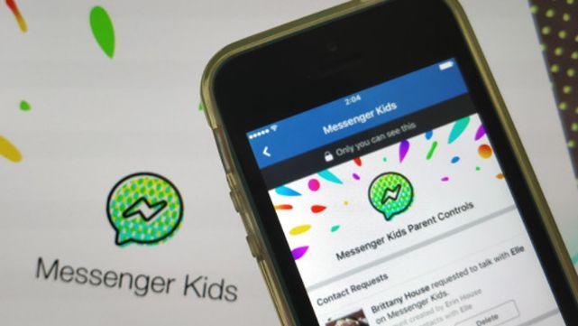 Facebook lanzó un Messenger para los más chicos