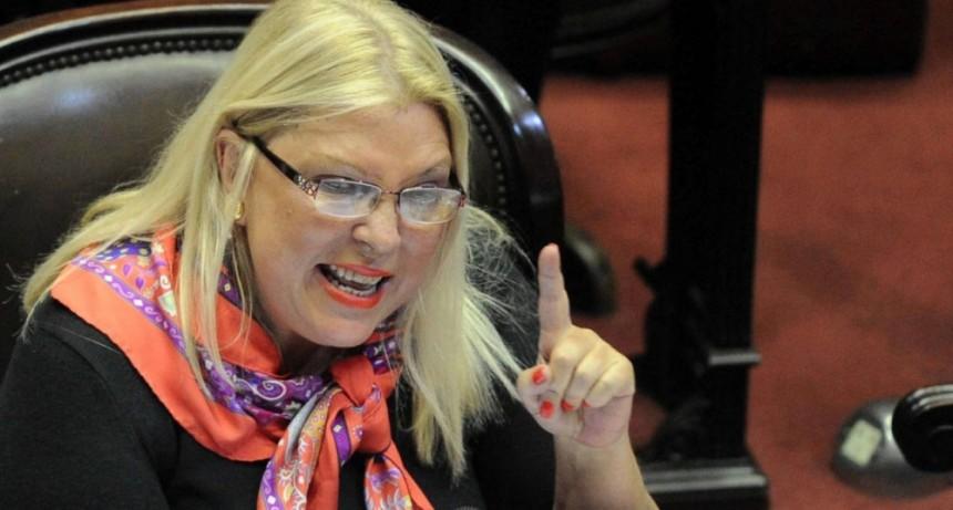 Carrió criticó la resolución de Bullrich: