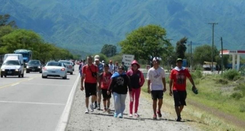 Llegaron más de 6500 peregrinos al Valle Central