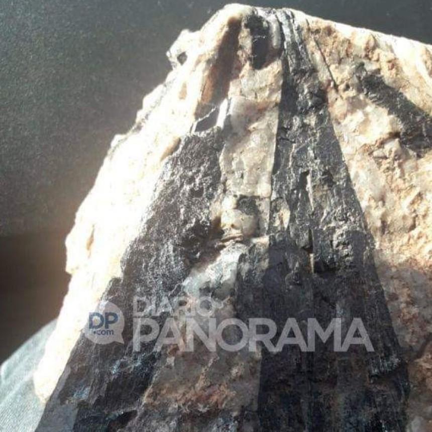 Peregrino: se topó con la imagen de la Virgen del Valle tallada en una piedra