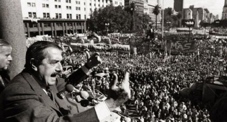 Los cuatro momentos de la recuperación de la democracia