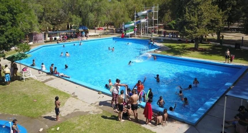 Quedó habilitado el balneario municipal en el camping de Santa María