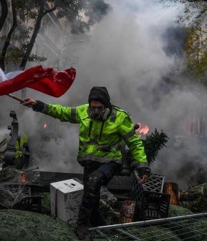 Arde Francia: las postales de una jornada violenta