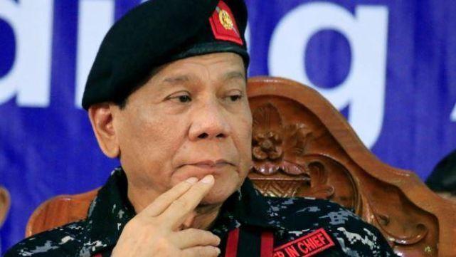 Duterte pidió
