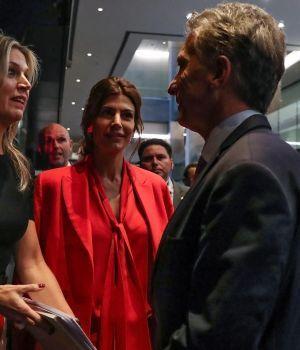 Macri estuvo con Máxima en el encuentro de mujeres líderes en negocios