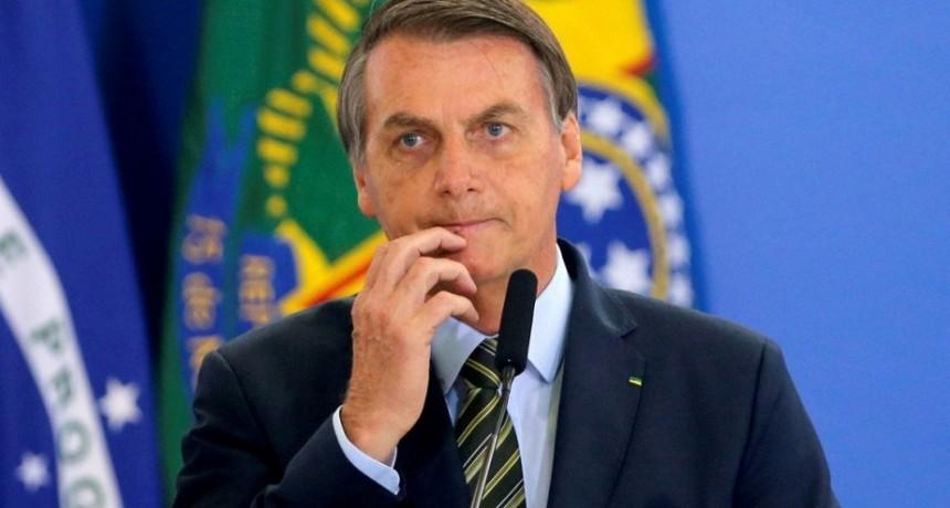 Bolsonaro baja el tono, quiere que le vaya a bien a Argentina y se equivoca al hablar de Rossi