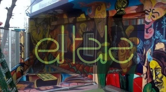 Con Murales De Artistas Plasticos Embelleceran Las Fachadas De Casas
